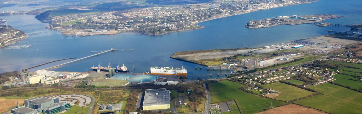 Port of Cork €30m EIB Investment