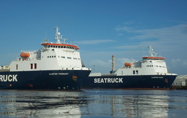 Seatruck leaps ahead on the Dublin-Liverpool route