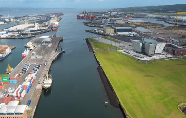 Belfast Harbour Handles c.23m Tonnes in 2015