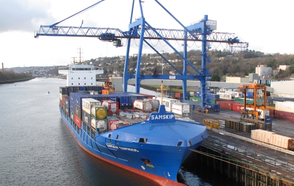 Port of Cork's 11 Million tonnes traffic result in 2015
